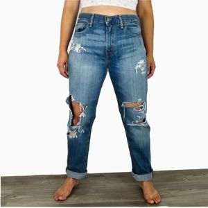 Vintage Levi's 511 Ripped Mom Jeans